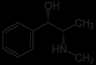 Structuurformule Pseudo-Efedrine