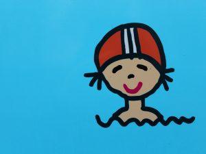 Kind in het water